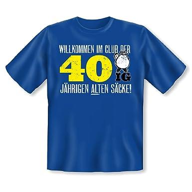 Shoppen Sie Goodman Design ® Geschenk Zum 40. Geburtstag   Lustiges  Geburtstagssprüche T Shirt 40 Jahre Alten Säcke   Für Männer :  Auf  Amazon.de:T Shirts