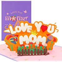 Biglietto di Auguri,Carta Festa Della Mamma,Pop-Up 3D Biglietto di Auguribiglietti Augurali Compleanno,Biglietto di…