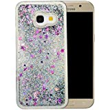 """Coque Samsung Galaxy A3 2017 Silicone Nnopbeclik® Paillettes Briller Style Backcover Doux Soft Transparente Housse pour Samsung Galaxy A3 2017 Coque Silicone (4.7 Pouce) Antichoc Protection Antiglisse Anti-Scratch Etui """"NOT FOR A3 2016/2015"""" - [Argent]"""