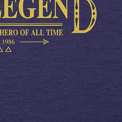 TEXLAB - The Legend - Herren T-Shirt Navy