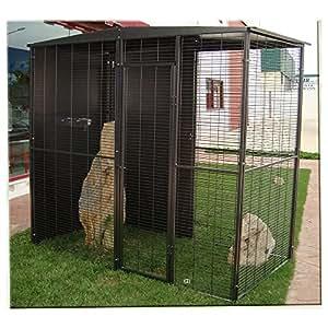 Volière perroquet 2 m2 (2x1 m )(3 colis)