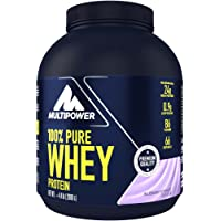 Multipower 100% Pure Whey Protein – wasserlösliches Proteinpulver mit Blueberry Yoghurt Geschmack – Eiweißpulver mit…