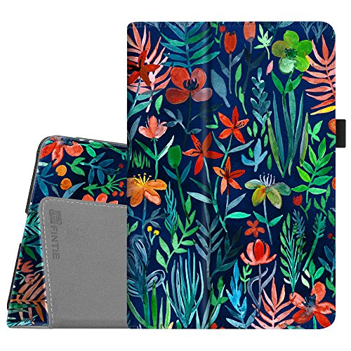 Fintie iPad Mini 4Fall-Premium Vegan Leder Folio Case Smart Ständer Schutzhülle mit Auto Sleep/Wake-Funktion für Apple iPad Mini 4Veröffentlicht auf 2015 Z-Jungle Night (Fintie Apple Ipad Folio Fall)