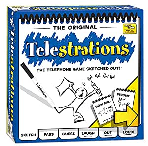 Telestrations the Telephone Game Sketched Out