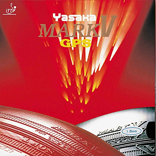Yasaka Belag Mark V GPS, 1,5 mm, schwarz (V Tischtennis-mark)