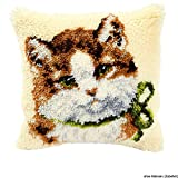 Vervaco PN-0014138 Knüpfkissen 3541 Katze