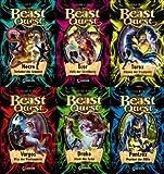 Beast Quest IV. Staffel Band 19 - 24 im Set (19. Necro Tentakel des Grauens + 20. Ecor Hufe der Zerstörung + 21. Tarax Klauen der Finsternis + 22. Vargos Biss der Verdammnis + 23. Drako Atem des Zorns + 24. Pantrax Pranken der Hölle)