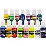 Epoxy hars pigment - verpakking van 12 stks vloeibare epoxyhars kleurstof - zeer geconcentreerde epoxyhars kleurstof voor har
