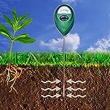 XLUX T10-Sensor de humedad del suelo - medidor de agua en el suelo, hidrómetro para jardinería y agricultura, no necesita pilas