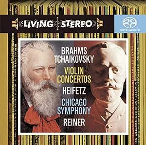 Brahms: Violin Concerto, op77 / Tchaikovsky: Violin Concerto, op35