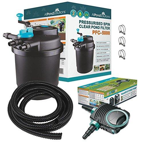All Pond Solutions PFC-5000-Kit de Filtre Pressurisé pour...