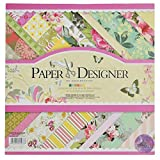 Asian Hobby Crafts Paper Designer Theme - Vibrant (Pack of 40)