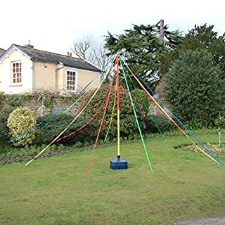 Playground Maypole Dance Around Holding Ribbons In May The 3M Pole