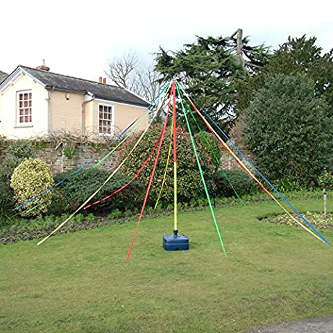 Playground Maypole Dance Around Holding Ribbons In May The 3M