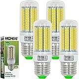 MENGS® 4 Stück E27 LED Lampe 15W AC 220-240V Kaltweiß 6500K 180x2835 SMD
