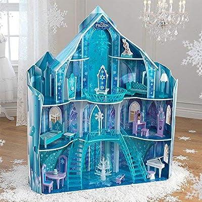 Disney Frozen Snowflake Mansion Dollhouse by KidKraft Frozen Dollhouse de KidKraft