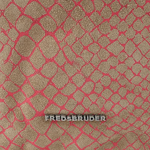 FREDsBRUDER Crazy Snake Charmer Sac fabriqué à partir de daim - grandes (34 x 34 x 13 cm) pink