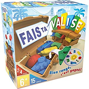Asmodee- Fais Ta Valise, Multicolor, Norme (SF01FR)