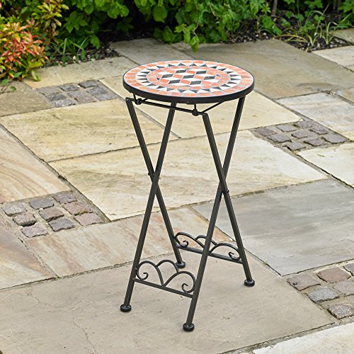 Kingfisher Mosaic Drinks Side Table
