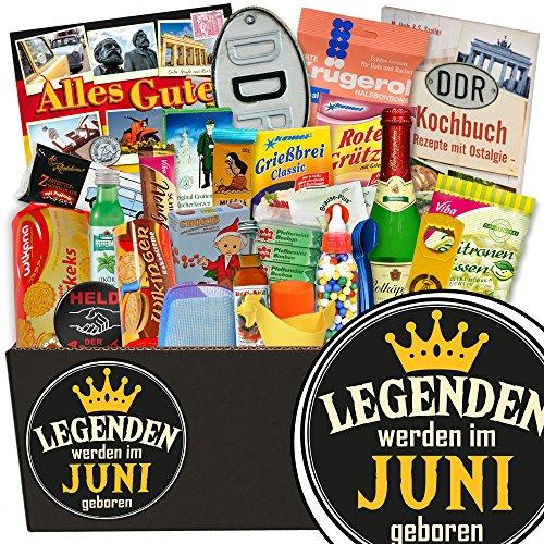 Legenden Juni + DDR Box 24tlg. + Juni Geschenkidee