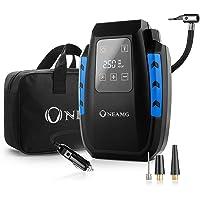 OneAmg Compresseur d'Air Portatif 12V, Compresseur Voiture d'air Digital Portable 12V 120W Auto Gonfleur Pneus…