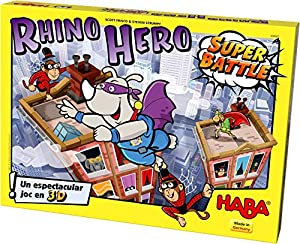 Haba- Rhino Hero - Super Battle -EUS, (Habermass 304088)