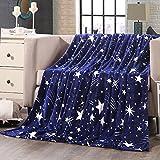 shinemoon All Season Weiche Flanell Bettwäsche Couch Bezug Decke für Erwachsene Kinder Leichte Outdoor Reisen Camping Rest decken für kalte