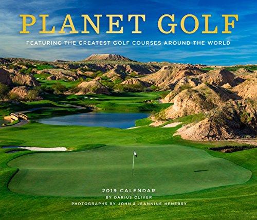 Planet Golf 2019 Wall Calendar