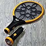 Viola Mosquito Racket/ Mosquito Killer Bat with Detachable Torch (Color May Vary)