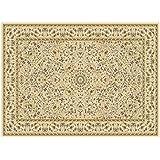 Alfombra arredo Classico Color beige – alfombra clásico – Alfombra Oriental – Alfombra Sitap Jamal 612-c78 W