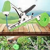 Aozzy Bindezange Tapetool Bindemaschine mit Tapes,Bindezange für Pflanzen Bindezange A Klebeband für Operationen von Bindung auf jede Pflanzenart Pflanzen Bindemaschine Bindezange