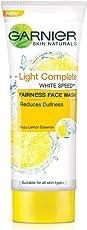 Garnier Skin Naturals, Light Complete Face Wash, 100g