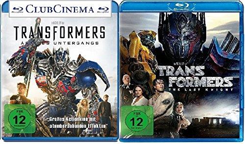 Transformers 4 + 5 im Set - Deutsche Originalware [3 Blu-rays]
