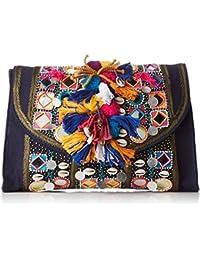 Antik Batik Koshi - Cartera de mano para mujer multicolor Multicolor (Multico) 1x23x33 cm (W x H x L)