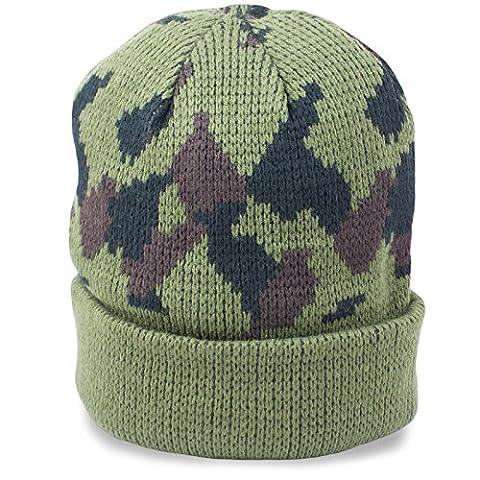 Mil-Tec Bonnet tricoté à rouleaux en acrylique
