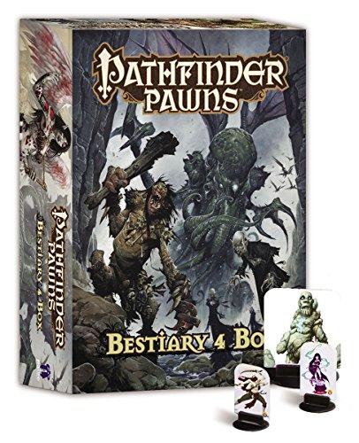 Pathfinder die Bauern Bestiarium (Box Of 4) Pathfinder-miniaturen