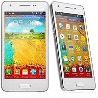 Foxnovo Uain mini N9002+ Android 4.2 MTK6572 Dual-core 512MB/4GB Dual-camera GPS 4.3-inch Capacitive 3G Smartphone (White)