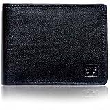 #9: Fashion Freak Genuine Leather Bi Fold Black Wallet For Men
