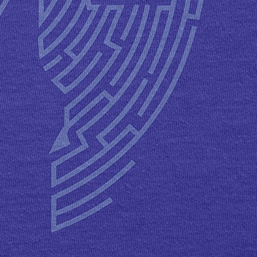 TEXLAB - Triforce Labyrinth - Herren Langarm T-Shirt Marine