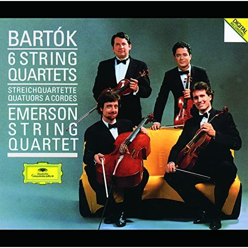 Bartók: String Quartet No.4, BB 95, Sz.91 - 4. Allegretto pizzicato