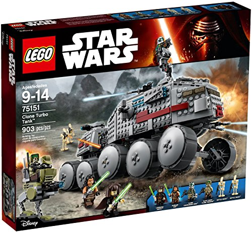 LEGO - 75151 - Star Wars - Jeu de Construction - Clone Turbo Tank