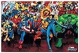Artopweb Marvel - Supereroi Marvel 90X60 Cm