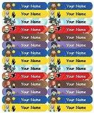 #9: Personalised, Waterproof Mini School Name Labels - Magic Design - 36nos