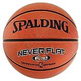 Spalding Nba Neverflat Ball Basketball, orange, 7