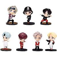 Generic Bangtan Boys Action Figure Toy - Set of 7, 7.8 cm Each