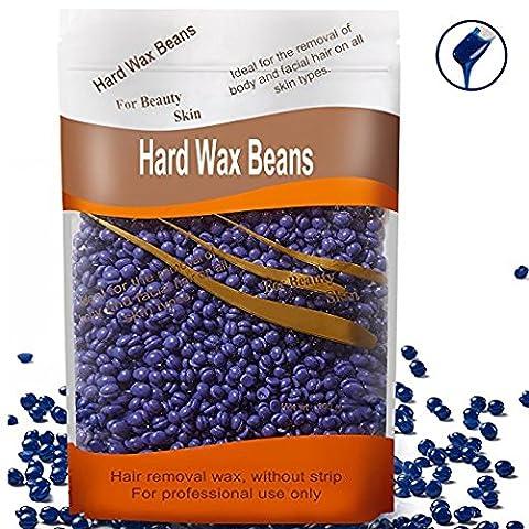 Petansy Hard Wax Beans Hard Body Wax Beans Femme et Hommes Épilation Wax Beans 3 Couleurs Soins de la peau