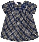 PAZ Rodriguez 004-95097, Vestido para Bebés, Azul (Indigo), Recién Nacido (Tamaño del Fabricante:3M)