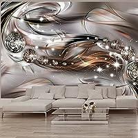 murando - Fototapete Abstrakt 150x105 cm - Vlies Tapete - Moderne Wanddeko - Design Tapete - Wandtapete - Wand Dekoration - Diamant a-A-0168-a-c
