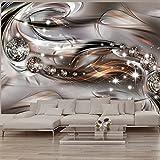 murando - Fototapete 350x245 cm - Vlies Tapete - Moderne Wanddeko - Design Tapete - Wandtapete - Wand Dekoration - Abstrakt Diamant a-A-0168-a-c