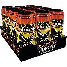 Rockstar Energy Drink Juiced Mango Orange, 12er Pack, Einweg (12 x 500 ml)
